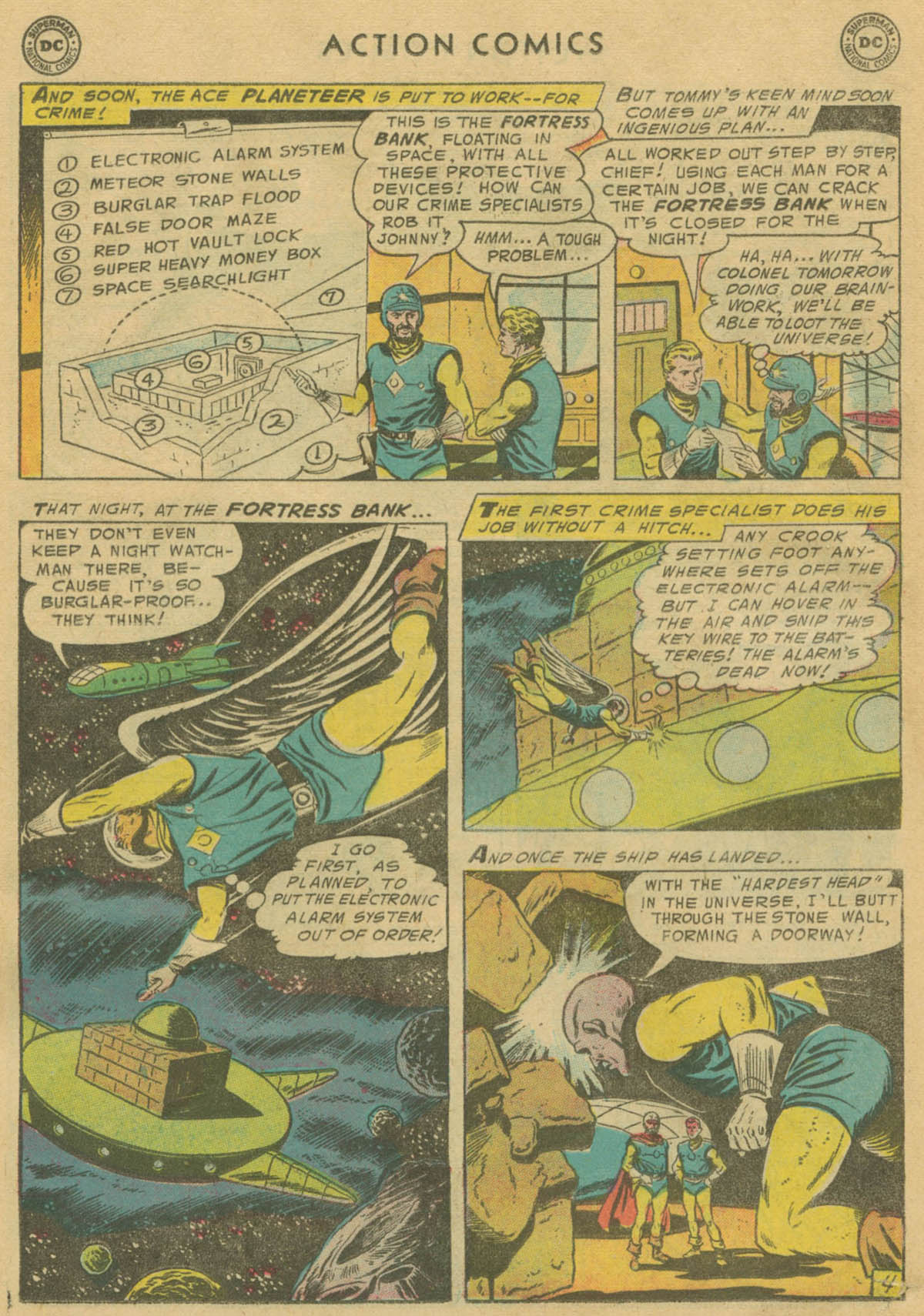 Read online Action Comics (1938) comic -  Issue #208 - 19