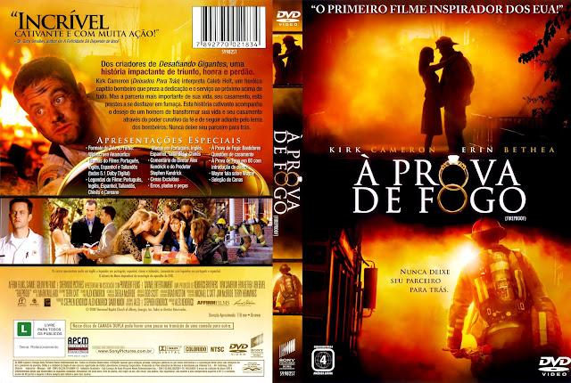 Capa DVD À Prova de Fogo