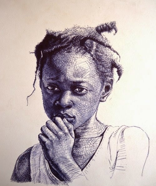 15-Life-Portrayed-by-a-Ballpoint-Pen-Enam Bosokah-www-designstack-co