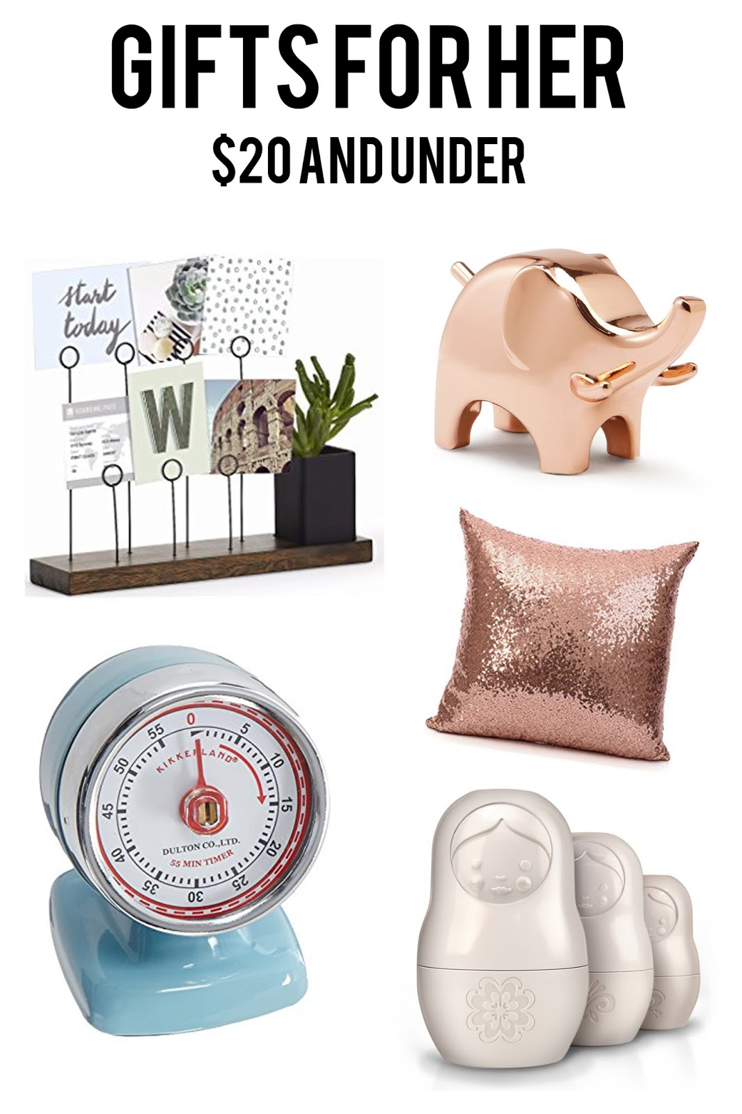 Gift Guide For Her 20 And Under