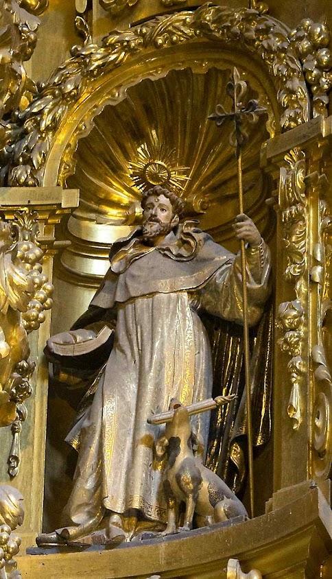 São Domingos de Gusmão, igreja de Santo Estevão, Salamanca.