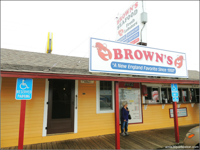 Lobster Shacks en New Hampshire: Brown's Lobster Pound