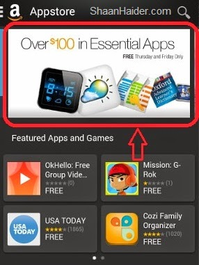 Amazon Appstore Offers $100 Worth Paid Android Apps for Free | Geeky Stuffs