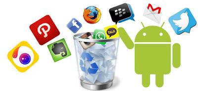 Aplikasi Tidak penting Pada Android Yang Harus di Hapus