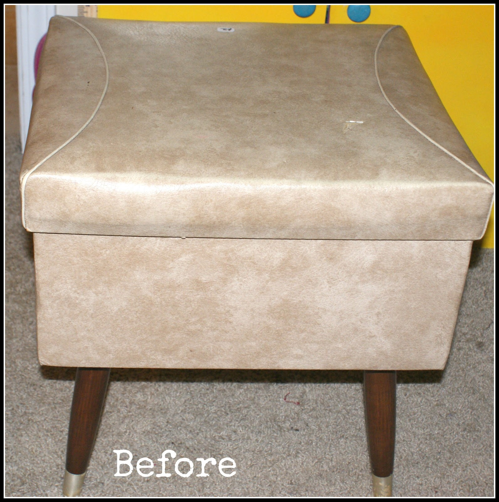 Michelle S Pixie Dust Sewing Stool Makeover