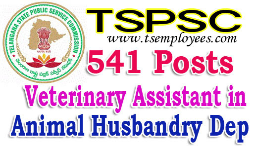 tspsc veterinary assistant in animal husbandry department ...