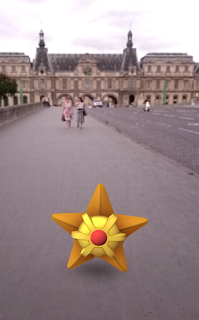 Stari - Louvre - Paris - Pokemon Go