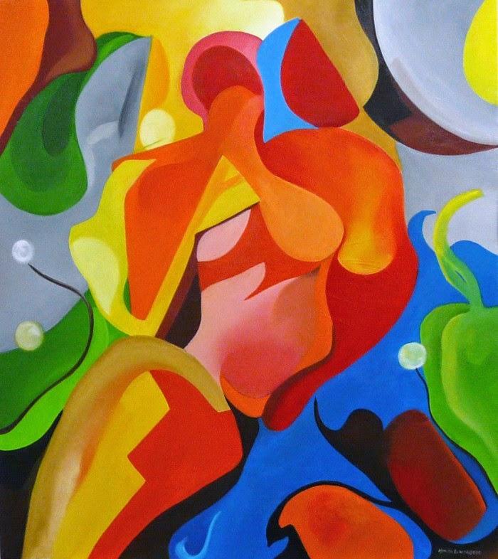 Абстрактные картины. Monica Lowenberg