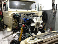 Foto : Restorasi Toyota Landcruiser 2F (Hardtop Bensin) - Hobi Itu Mahal
