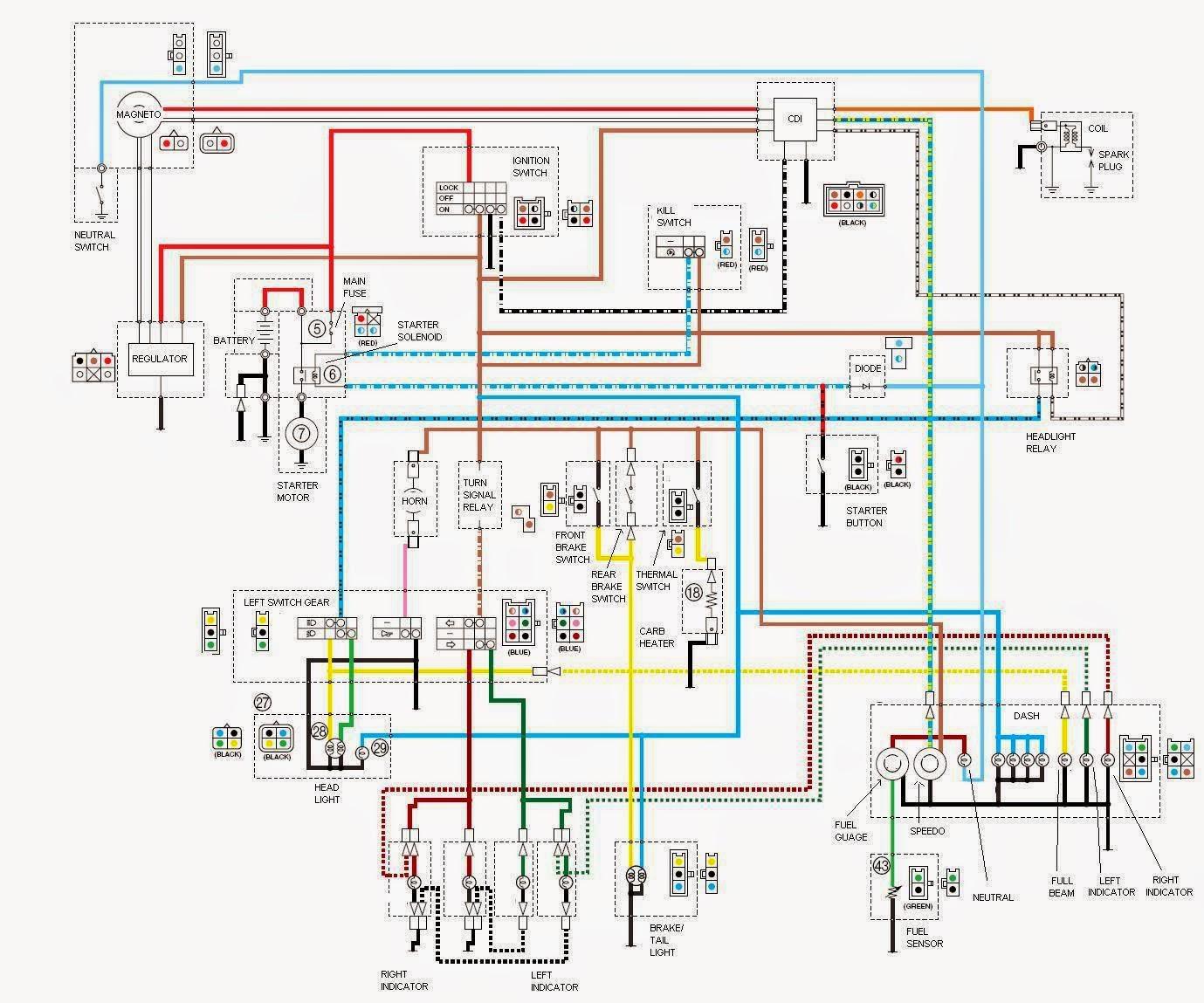 yamaha ybr 125 wiring diagram [ 1379 x 1149 Pixel ]