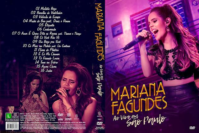 Capa DVD Mariana Fagundes ao Vivo em São Paulo [Exclusiva]