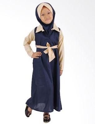 37 Gambar Model Baju Muslim Anak Perempuan Terbaru 2018