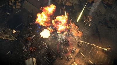 تجربة العبة Livelock المحارب الداكي و المقاتلون الخمسة