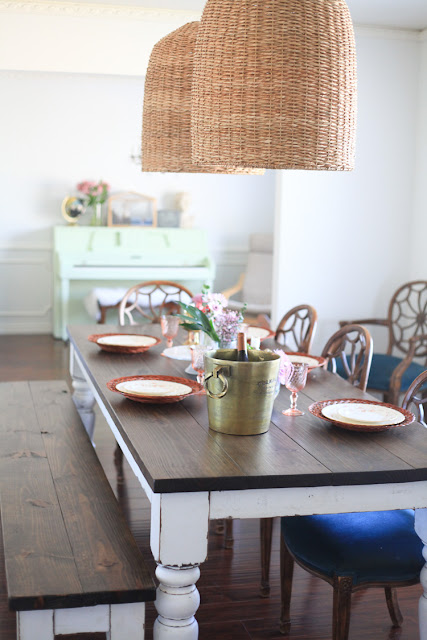 farmhouse spring decorating home tour