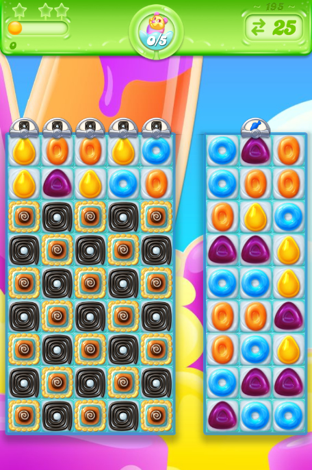 Candy Crush Jelly Saga saga 195