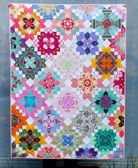 Lucy's Terrace Quilt Free Pattern