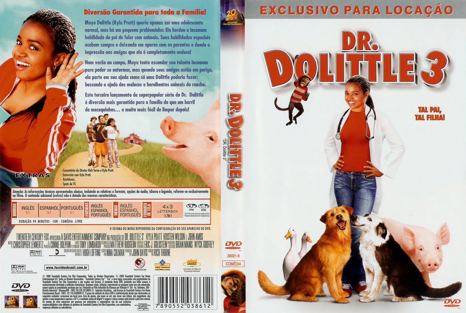 dr dolittle 3 online español latino