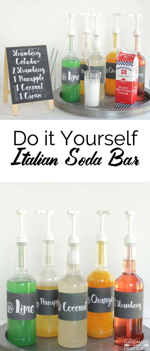 Italian Cream Soda Bar