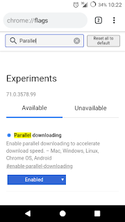 Parallel Download Chrome