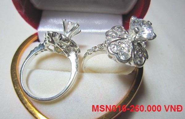 www.trangsuc.top - Nhẫn đính đá trắng cao cấp MSN016-260.000 VNĐ - Liên hệ mua hàng: 0906846366(Mr.Giang)
