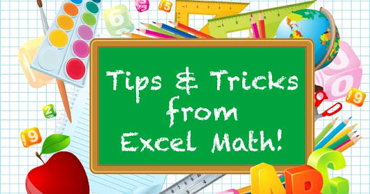 Tips & Tricks for Success with Math