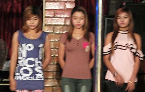 Yangon nightlife girls in Chinatown