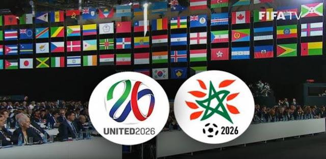 رسميا الملف الامريكي المشترك يفوز بتنظيم كأس العالم 2026