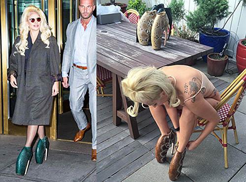 Armadillo high heels untuk Lady Gaga