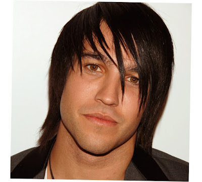 Middle Aged Men'S Long Hairstyles Black Color Straight