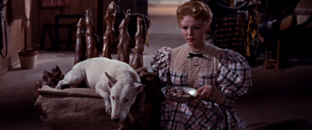 Wildfire and Sally Fraser in It's a Dog's Life (1955)