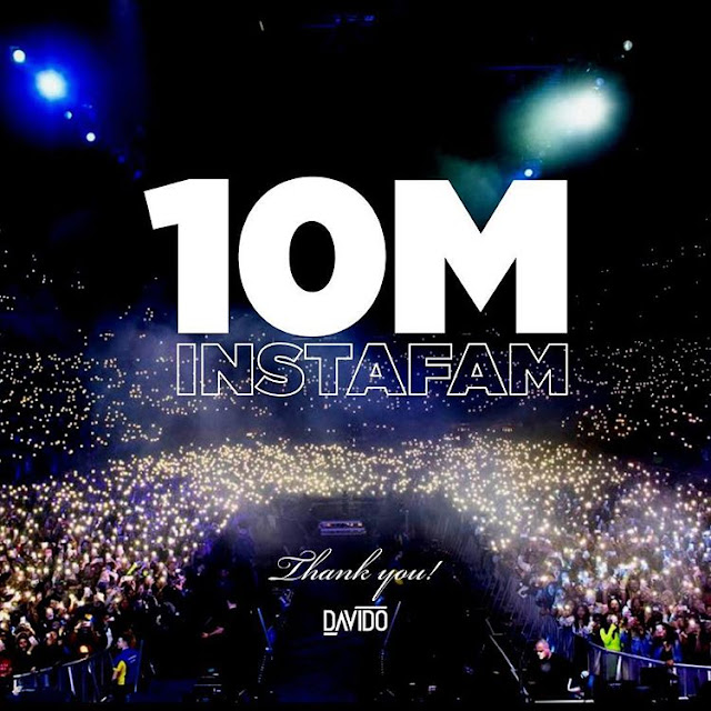 Davido emerges Nigerian celebrity with highest instagram followers