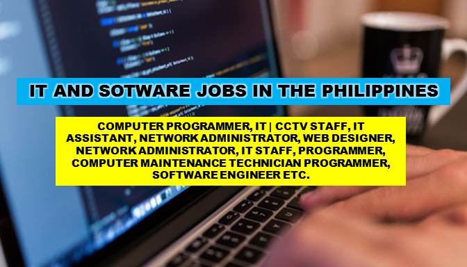 "Are you looking for an IT and Software jobs in the Philippines? The following are job vacancies for you. If interested, you may contact the employer/agency listed below to inquire further or to apply.     JOB VACANCIES  1. BUSINESS ANALYST  Apply before 17 Sep Company: Infomax Systems Solutions and Services Inc. Salary: 17,000.00 - 23,000.00 PHP/ month Vacancy: 1 opening Website: http://infomax.com.ph Office Address:  8F ACE Building, 101-103 Rada St. Legaspi Village, Makati, Metro Manila, Philippines  2. TECHNICAL PRE-SALES CONSULTANT Apply before 30 Aug Company: Tagit Vacancy: 2 openings Website: http://www.tagitmobile.com Office Address: CEO Suite, 12th Floor Robinsons Summit Center, 6783 Ayala Ave, Makati, 1200 Metro Manila, Philippines  3. MOBILE AND WEB ENGINEER | BUILD AND RELEASE Apply before 29 Aug Company: Tagit Vacancy: 2 openings Website: http://www.tagitmobile.com Office Address: CEO Suite, Robinsons Summit Center, 6783 Ayala Ave, Makati, 1200 Metro Manila, Philippines  4. ODOO DEVELOPER Apply before 17 Sep COMPANY: Synersys Consulting Inc. Vacancy: 3 openings Website: http://www.synersysph.com/ Office Address: 500 Shaw Boulevard, Mandaluyong, NCR, Philippines  5. MANDARIN SOFTWARE DEVELOPER Apply before 29 Aug COMPANY: Veritas Pay Philippines, Inc Vacancy: 1 opening Office Address: Bagong Ilog, Pasig, Metro Manila, Philippines  6. PROGRAMMER  Apply before 14 Sep COMPANY: LICA Group of Companies Vacancy: 1 opening Website: http://licagroup.com/ Office Address: 7912 Makati Ave, Manila, 1200 Metro Manila, Philippines  7. RUBY ON RAILS DEVELOPER Apply before 30 Sep Company: EASTWEST BPO Salary: 45,000.00 - 70,000.00 PHP/ month Vacancy: 1 opening Website: http://www.eastwestbpo.com Office Address:1908 ADB Ave, San Antonio, Pasig, 1605 Metro Manila, Philippines  8. HELPDESK SUPPORT · Apply before 1 Apr Company: Titanium Technologies Inc. Office Address: Shaw Boulevard-EDSA, Mandaluyong, Metro Manila, Philippines  9. COMPUTER MAINTENANCE TECHNICIAN Apply before 1 Apr Company: Titanium Technologies Inc. Office Address: Shaw Boulevard-EDSA, Mandaluyong, Metro Manila, Philippines  10. SENIOR SOFTWARE DEVELOPER Apply before 31 Jul Company: B&BL Global Solutions Salary: 50,000.00 - 70,000.00 PHP/ month Vacancy: 1 opening Website: http://www.bblglobalsolutions.com/ Office Address: 4th Floor PDAF Building, 407 Sen. Gil Puyat Ave, Bel Air Makati 11. JUNIOR SOFTWARE DEVELOPER Apply before 31 Jul Company: B&BL Global Solutions Salary: 35,000.00 - 50,000.00 PHP/ month Vacancy: 1 opening Website: http://www.bblglobalsolutions.com/ Office Address: 4th Floor PDAF Building, 407 Sen. Gil Puyat Ave, Bel Air Makati  12. SOFTWARE DEVELOPER TEAM LEAD Apply before 31 Jul Company: B&BL Global Solutions Salary: 75,000.00 - 100,000.00 PHP/ month Vacancy: 1 opening Website: http://www.bblglobalsolutions.com/ Office Address: 4th Floor PDAF Building, 407 Sen. Gil Puyat Ave, Bel Air Makati   13. UI/UX DESIGNER | WEB/MOBILE Apply before 30 Jul Company: Swoop, Inc. Salary: 25,000.00 - 30,000.00 PHP/ month Vacancy: 1 opening Website: http://www.swooploop.com Office Address: Makati, Metro Manila, Philippines   14. ANDROID DEVELOPER (NATIVE) Apply before 30 Jul Company: Swoop, Inc. Salary: 27,000.00 - 30,000.00 PHP/ month Vacancy: 1 opening Website: http://www.swooploop.com Office Address: Makati, Metro Manila, Philippines   15. FRONT END DEVELOPER Apply before 9 Sep Company: Intevalue Services Inc Vacancy: 1 opening Website: http://www.intevalue.com Office Address: Makati, Metro Manila, Philippines   16. TECHNICAL SERVICE ANALYST Apply before 15 Sep Company: Primer Group of Companies Vacancy: 1 opening Website: http://www.primergrp.com/ Office Address: Primer Star Center, 2282 Leon Guinto Street, Malate, Manila, Metro Manila, Philippines   17. SYSTEMS DEVELOPER Apply before 5 Sep Company: Primer Group of Companies Vacancy: 1 opening Website: http://www.primergrp.com/ Office Address: Primer Star Center, 2282 Leon Guinto Street, Malate, Manila City, 1004, Metro Manila, Philippines   18. SYSTEMS DEVELOPMENT SPECIALIST Apply before 14 Sep Company: The Purple Oven Corporation Vacancy: 2 openings Office Address: 3 Saint Peter Street, Oranbo, Pasig, Metro Manila, Philippines   19. PROGRAMMER Apply before 14 Sep Company: Meridian International College of Business and Arts, Inc. Vacancy: 1 opening Website: http://www.mintcollege.com/#mintcollege Office Address: 2/F Commerce and Industry Plaza 1030 Campus Ave.,, McKinley Hill, Fort Bonifacio, Taguig City, Taguig, Metro Manila, Philippines   20. APPLICATIONS DEVELOPER Apply before 8 Aug Company: Kalibrr Vacancy: 1 opening Website: https://www.kalibrr.com Office Address: Makati, Metro Manila, Philippines   21. IT | CCTV OPERATOR STAFF Apply before 10 Sep Company: Staff Alliance, Inc Vacancy: 5 openings Website: http://www.staff-alliance.com Office Address: 4F Tower 6789, Ayala Avenue,, Makati, Metro Manila, Philippines   22. TECHNICAL HELPDESK SPECIALIST | ALABANG Apply before 12 Sep Company: Head Hunters Asia Pacific (Inc) Vacancy: 30 openings Website: http://www.head-hunters.asia Office Address: Citibank Center, 8th Floor, Paseo de Roxas, Makati, Metro Manila, Philippines   23. INFORMATION TECHNOLOGY STAFF | BINONDO Apply before 3 Sep Company: Kitchen Beauty Marketing Corp. Vacancy: 1 opening Office Address: RM 1203 State Center Bldg. #333 Juan Luna St., Binondo, Manila, Manila, Metro Manila, Philippines   24. IT ASSISTANT Apply before 28 Jul Company: Worldwide Multimedia Providers Inc. Salary: 20,000.00 - 40,000.00 PHP/ month Vacancy: 5 openings Website: http://www.wmpi.com Office Address: Fort Bonifacio, Taguig, Metro Manila, Philippines   25. WEB DEVELOPER Apply before 30 Aug Company: ActiveLink Vacancy: 5 openings Website: https://www.activelinkbenefits.com Office Address: Electra House Building, 115-117 Esteban, Legazpi Village, Makati, Metro Manila, Philippines   26. SOFTWARE DEVELOPER Apply before 10 Sep Company: Diversify Offshore Staffing Solutions Website: https://www.diversifyoss.com Office Address: 27F Twenty-four Seven Mckinley Bldg., 24th St. corner 7th Ave. Bonifacio Global City, Taguig, Metro Manila, Philippines  27. SOFTWARE ENGINEER Apply before 31 Aug Company: ASTICOM Technology Inc. Salary: 60,000.00 - 70,000.00 PHP/ month Vacancy: 10 openings Office Address: Pioneer Highlands Condominium, Madison, Mandaluyong, Metro Manila, Philippines  28. BUSINESS PROCESS ANALYST Apply before 30 Aug Company: ASTICOM Technology Inc. Salary: 20,000.00 - 25,000.00 PHP/ month Vacancy: 2 openings Office Address: Pioneer Highlands Condominium, Madison, Mandaluyong, Metro Manila, Philippines  29. SENIOR RETOUCHER Apply before 8 Sep Company: Head Hunters Asia Pacific Inc Salary: 20,000.00 - 25,000.00 PHP/ month Vacancy: 8 openings Website: www.head-hunters.asia Office Address: Ortigas Ave, Pasig, Metro Manila, Philippines  30. .NET DEVELOPER | PASAY Apply before 7 Sep Company: Micro-D International & Novare Technologies Vacancy: 1 opening Website: http://www.mdi.net.ph http://www.novare.com.hk/ Office Address: Two E-com Center, Harbor Dr, Pasay, Metro Manila, Philippines  31. QUALITY ASSURANCE (QA) MANAGER Apply before 31 Jul Company: Concept Machine Salary: 18,000.00 - 25,000.00 PHP/ month Vacancy: 1 opening Website: http://conceptmachine.net Office Address: U412 Cityland 10 Tower 1, Ayala Avenue, Makati, Metro Manila, Philippines  32. HTML DEVELOPER Apply before 29 Jul Company: Oraclesee, Inc. Vacancy: 20 openings Website: http://www.oraclesee.com Office Address: 20th Floor Oledan Square, 6788 Makati Skyplaza, Ayala Ave., Makati City   33. PROGRAMMER  Apply before 4 Sep Company: STI Education Services Group Vacancy: 2 openings Website: http://www.sti.edu Office Address: STI Head Office STI Academic Center Ortigas-Cainta, Ortigas Avenue Extension, Cainta, 1900 Rizal, Cainta, CALABARZON, Philippines   34. GPS TECHNICIAN Apply before 3 Aug Company: Wireless Link Technologies, Inc. Vacancy: 1 opening Website: http://wireless-link.net/ Office Address: 544 Florentino Torres St. Sta. Cruz, Manila, Manila, Metro Manila, Philippines   35. SOFTWARE ENGINEER Apply before 2 Sep Company: Campaigntrack Salary: 20,000.00 - 30,000.00 PHP/ month Vacancy: 4 openings Website: http://www.campaigntrack.com/ Office Address: Jaka 6780 Ayala, 6780 Ayala Ave, Legazpi Village, Makati, 1226 Metro Manila, Philippines   36. FULL STACK SOFTWARE DEVELOPER Apply before 29 Jul Company: Futureworks Inc. Salary: 22,000.00 - 25,000.00 PHP/ month Vacancy: 1 opening Website: http://www.futureworks.ph Office Address: 1037 Teresa Street, Brgy. Valenzuela, Makati, Metro Manila, Philippines  37. FRONT END DEVELOPER Apply before 6 Aug Company: Montgomery Fitch + Associates Salary: 30,000.00 - 50,000.00 PHP/ month Vacancy: 1 opening Website: http://www.montgomeryfitch.com Office Address: Suite 2302 Prestige Tower, F. Ortigas Jr. Ave Ortigas Center, Pasig, Metro Manila, Philippines   38. OFFICE STAFF | CSR | ELECTRONICS & ENTERTAINMENT Apply before 2 Sep Company: Global Headstart Specialist, Inc. Vacancy: 50 openings Website: http://www.globalheadstart.com/ Office Address: Unit 2004, 139 Corporate Center, 139 Valero St.,, Salcedo Village, Makati, Metro Manila, Philippines   39. TECHNICAL HELPDESK SPECIALIST | ALABANG Apply before 2 Sep Company: Head Hunters Asia Pacific Inc Salary: 15,000.00 - 21,000.00 PHP/ month Vacancy: 30 openings Website: www.head-hunters.asia Office Address: Alabang, Muntinlupa, Metro Manila, Philippines   40. INFORMATION TECHNOLOGY (IT) STAFF Apply before 30 Jul Company: MULTI DEVELOPMENT AND CONSTRUCTION CORP. (MDCC) Vacancy: 1 opening Website: http://www.mdcc.com.ph Office Address: Clipp Center, BGC, Taguig, Metro Manila, Philippines   41. TECHNICAL HELPDESK OPERATIONS MANAGER Apply before 1 Sep Company: Head Hunters Asia Pacific (Inc) Salary: 60,000.00 - 80,000.00 PHP/ month Vacancy: 1 opening Website: http://www.head-hunters.asia Office Address: Alabang, Muntinlupa, Metro Manila, Philippines   42. SOFTWARE DEVELOPER Apply before 1 Sep Company: Allied World Healthcare Vacancy: 1 opening Website: http://www.alliedworld.healthcare Office Address: Makati, NCR, Philippines  div align=""cente  43. SOFTWARE DEVELOPER Apply before 15 Sep Company: Xurpas Inc Vacancy: 1 opening Website: http://xurpasgroup.com/ Office Address: Salcedo, Makati, Kalakhang Maynila, Philippines   44. INFORMATION TECHNOLOGY STAFF 