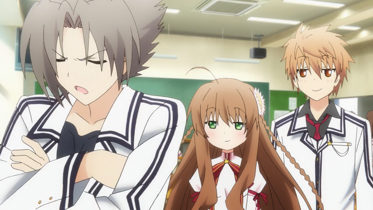 Oka☆ken tv anime rewrite episode 1 sub indo