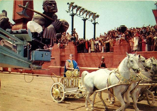 Rodaje Ben-Hur