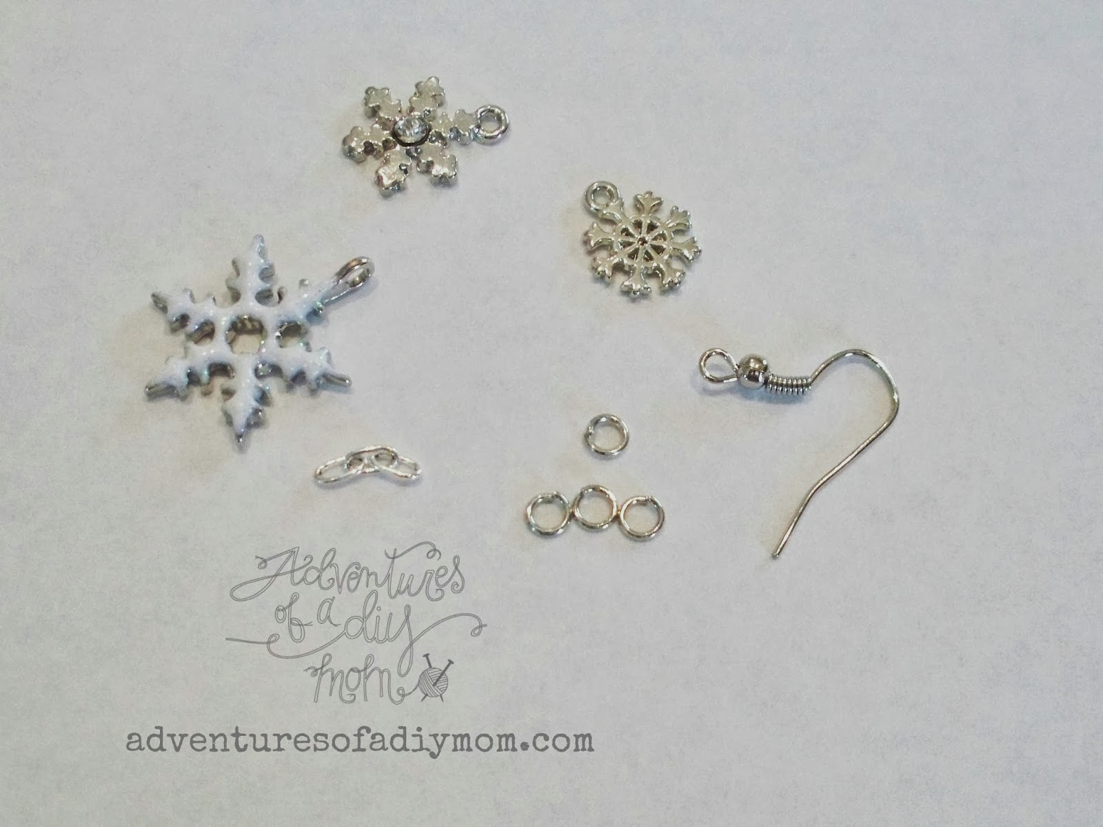 Snowflake Earrings And Necklace