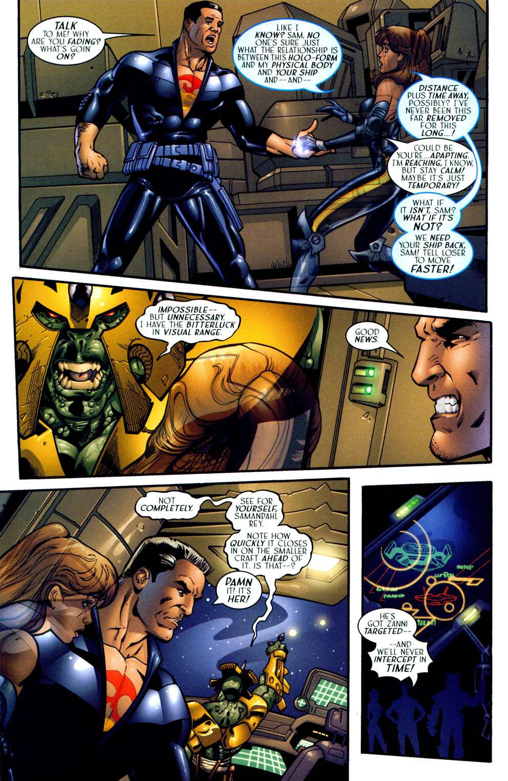 Read online Sigil (2000) comic -  Issue #13 - 16