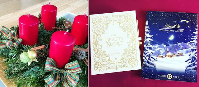 Adventszeit - Vorfreude auf Weihnachten Adventskranz