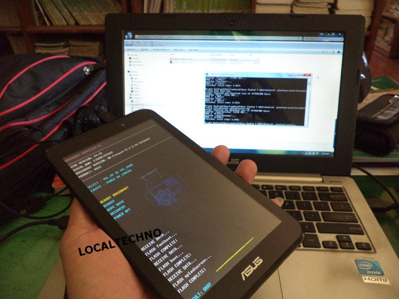 Cara Flash Ulang Asus Fonepad 7 K012 FE170CG Dijamin Work ...