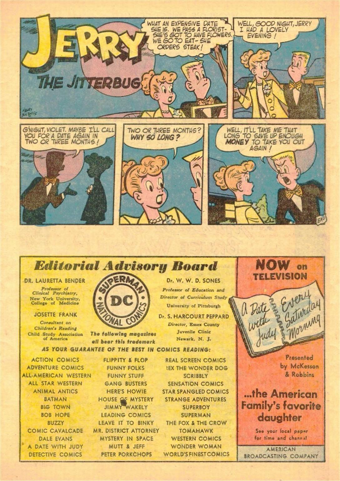 Read online World's Finest Comics comic -  Issue #58 - 53