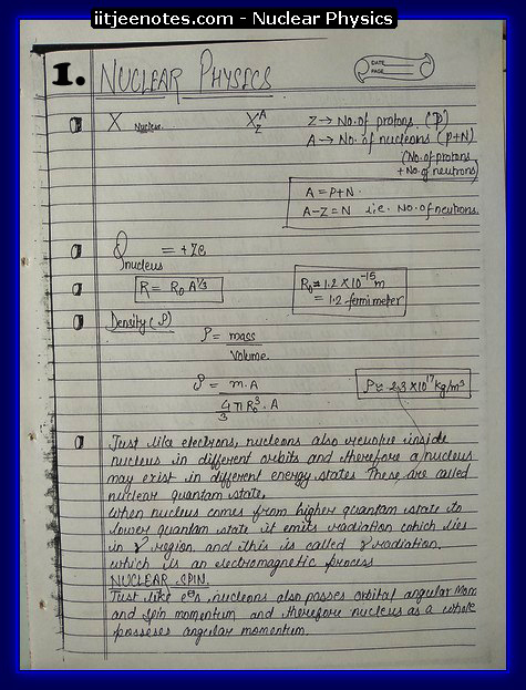 Nuclear Physics1