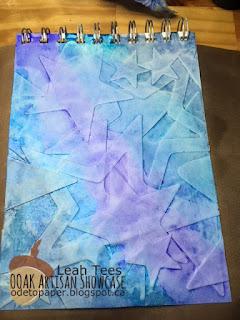 Leah Tees Mixed Media Art Journal OOAK Artisans