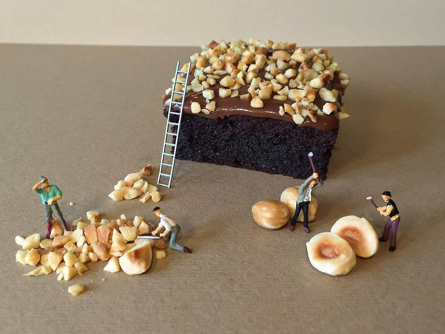 Italian Culinary Expert Creates Lifelike Miniatures Through Pastry