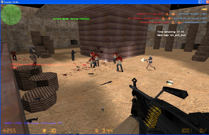 Zombie gs mod for counter-strike | counter-strike 1. 6 mods.
