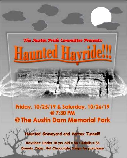 10-25/26 Haunted Hayride, Austin