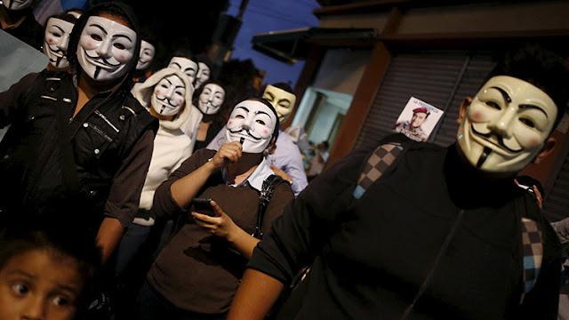 """La """"Marcha del Millón de Máscaras"""" de Anonymous recorre cientos de ciudades del mundo"""
