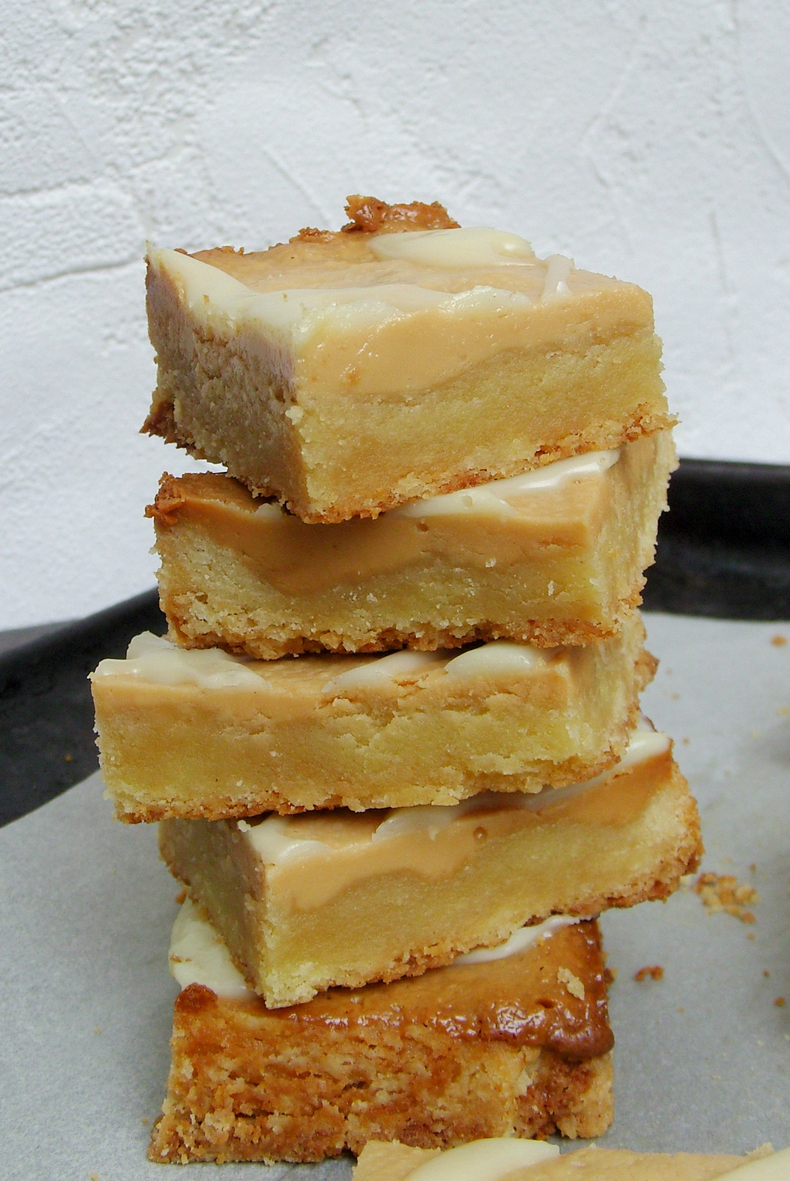 nougat cookie bars squares