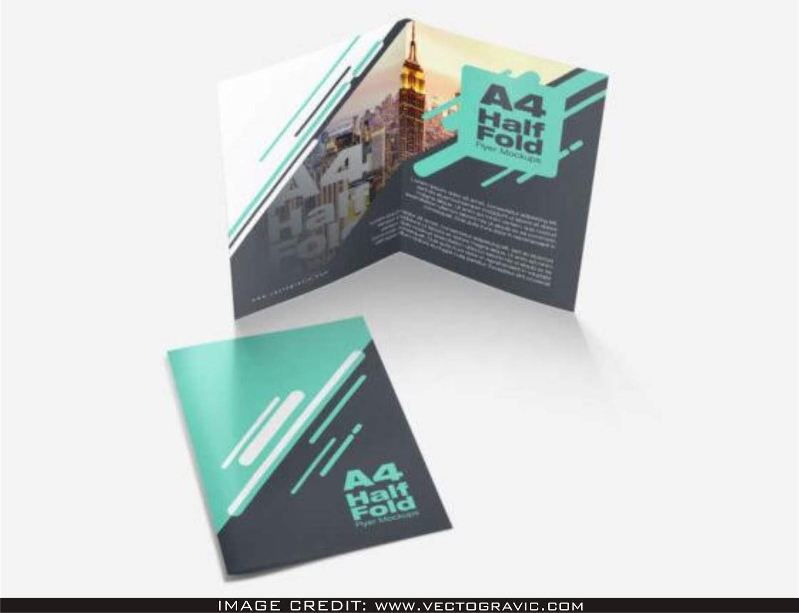 half fold brochure template free.html