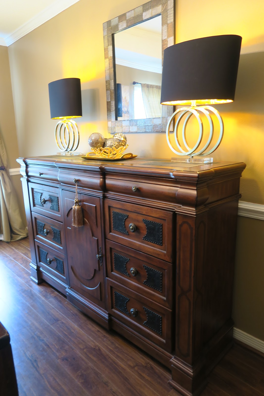 When Looking For A Dining Room Hutch Make Sure It Has Plenty Of Storage And That Is One Feature I Love About This There Are Nine Drawers In Total