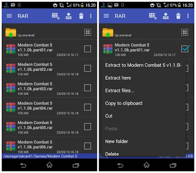 RAR Extrator For Android