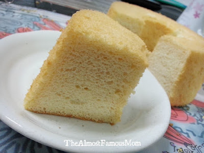 The Almost Famous Mom Airbaked Vanilla Chiffon Cake
